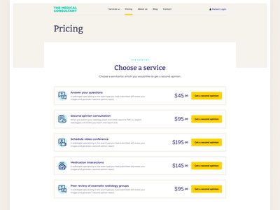 Pricing page medical icons icon set desktop design pricing plan ui medical medical app pricing plans pricing page