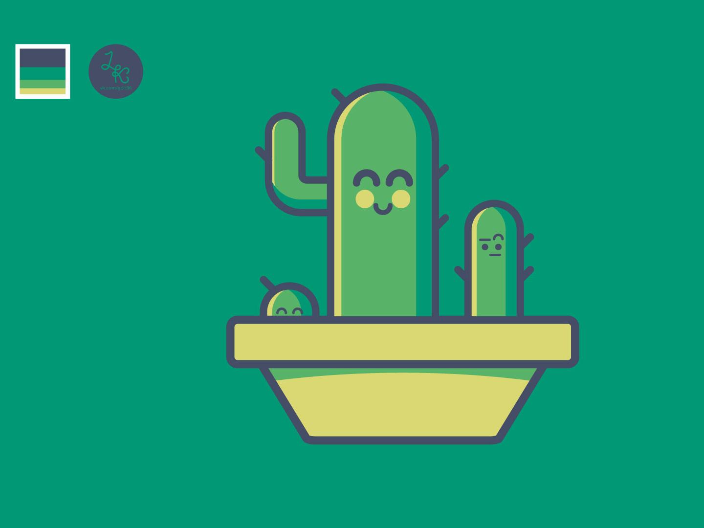 Cactus cactus vector illustrator