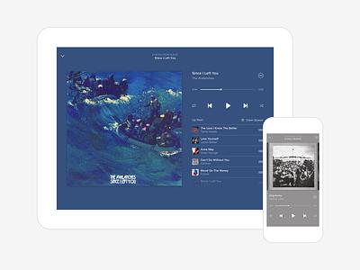 Music Player ui player music ios app