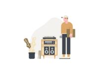 Crate - Illustration