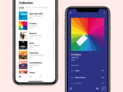 Crate - Collection and Release iphonex vinyl ux ui records music mobile ios crate collection app