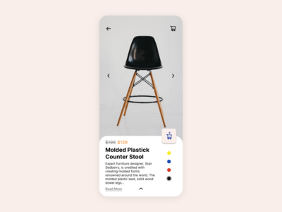 Furniture Mobile App google design app design 2021 trend simple product amazon store ecommerce minimal ios13 mobile design ux mobile app mobile ui furniture app