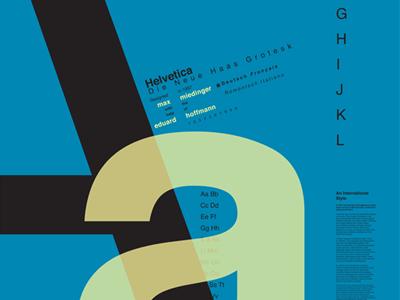 Typography through the Centuries—Helvetica