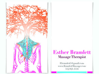 Business Cards for Massage Therapist
