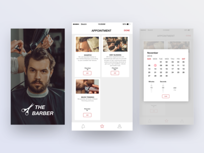 The Barber -Application