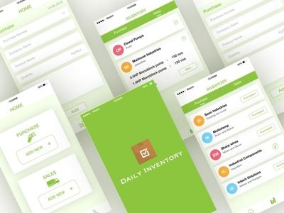 Inventory Management App - UI Kit
