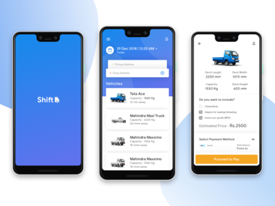 Shift - Truck Rental App