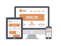 Web Icon - responsive website