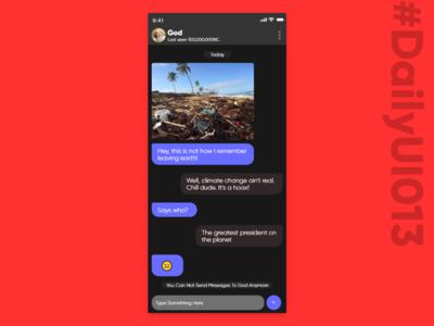 DailyUI013 - Direct Messaging