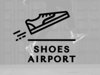 Shoes Airport Logotype