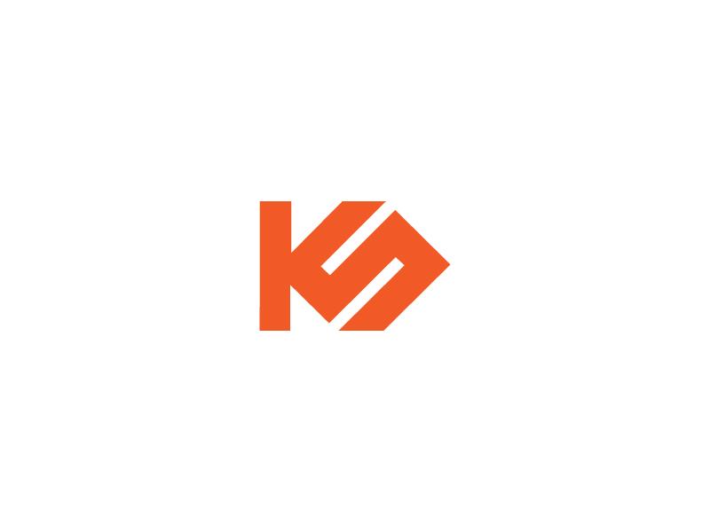 ks logo wip by bhupesh on dribbble ks logo wip by bhupesh on dribbble