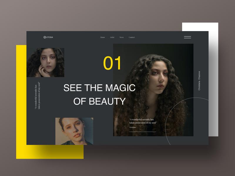Header Design free banner colorful trendy 2022 ui design web ui web layout web header layout header design creative minimal header