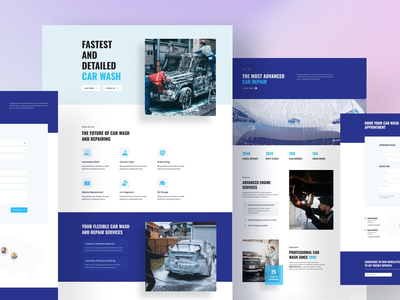 Car Wash Layouts for SP Page Builder about homepage minimal header joomla layouts template webui vehicle wash garage repair shop auto mechanic car repair car wash