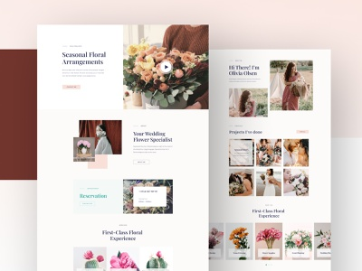 Florist Layouts for SP Page Builder Pro floriculturists floral markets florist website flower shop florist