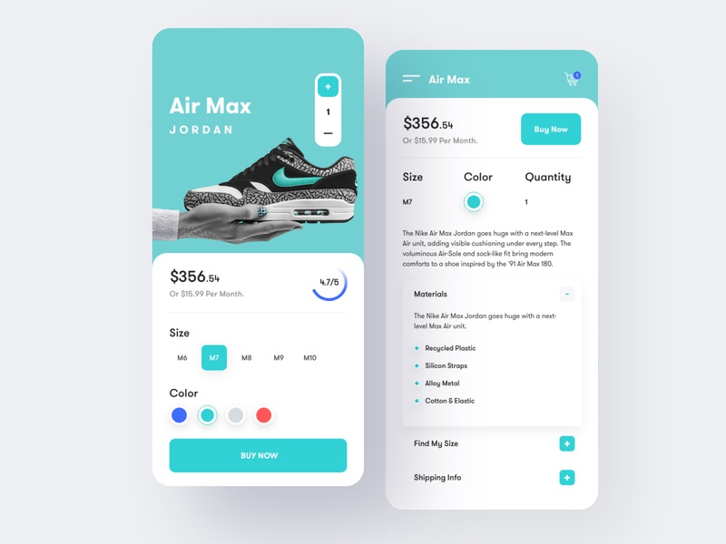 Ui Design Trends 2020.Shoes Store Ios App Design By Ahmed Manna For Unopie On Dribbble