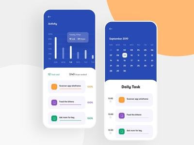 Task Management App Concept