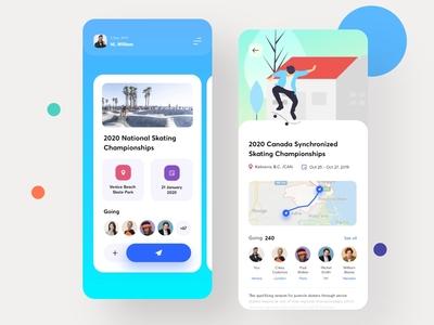 Event iOS App Concept