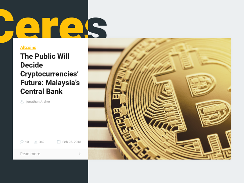 Cryptocurrency News WordPress Theme online media ceres magazine article bitcoin crypto theme wordpress news cryptocurrency