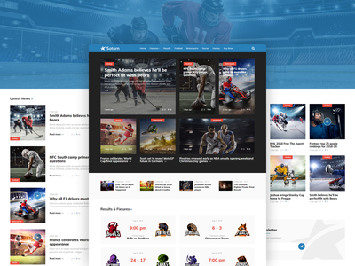 Sports Magazine & News WordPress Theme sports news wordpress theme newspaper sport magazine theme news wordpress