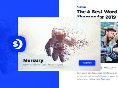 The design concept wordpress design wordpress theme wordpress development mercury website space-themes logo design theme wordpress