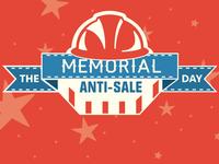 Memorial Day Email Header for SupplyHog