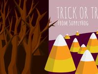 Halloween Graphic for SupplyHog