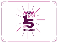 MWM Top 15 Logo