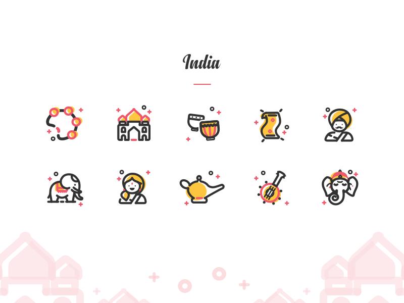 Icon Exploration: India