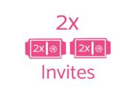 2x Invites