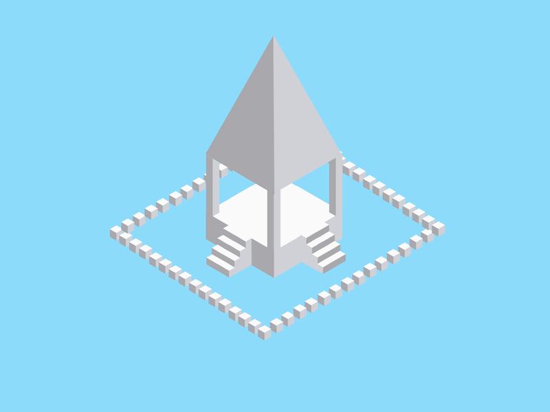 Temple isometric illustration isometric design temples temple 3d art 3d isometric