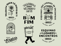 Mercado Brasco bakery lettering art illustration lettering