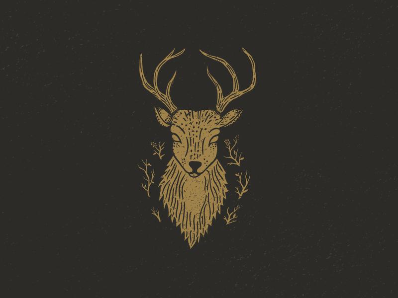 Deer illustration wild wild animals deer illustration