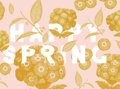 Happy Spring Wallpaper