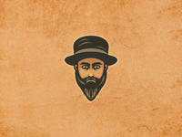 Bearded 1. Unused Design