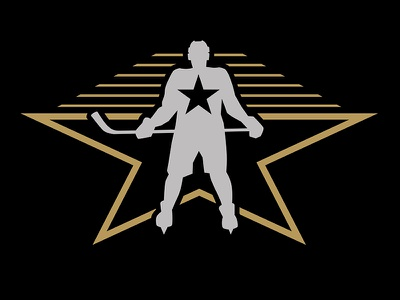 NHL 2017 All-Star Iconography star silver los angeles hollywood player hockey player hockey stick hockey gold california black all-star
