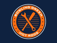 Bowling Green Hot Rods Shoulder Patch