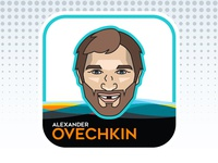 NHL All-Star Emoji Series - Alex Ovechkin