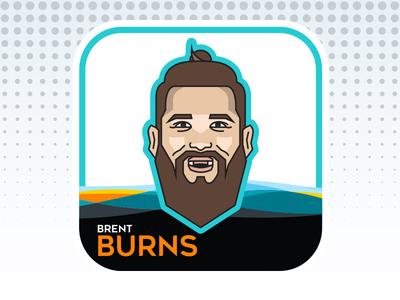 NHL All-Star Emoji Series - Brent Burns