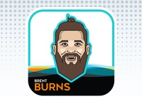 NHL All-Star Emoji Series - Brent Burns