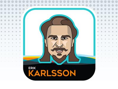 NHL All-Star Emoji Series - Erik Karlsson