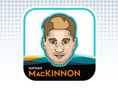 NHL All-Star Emoji Series - Nathan MacKinnon