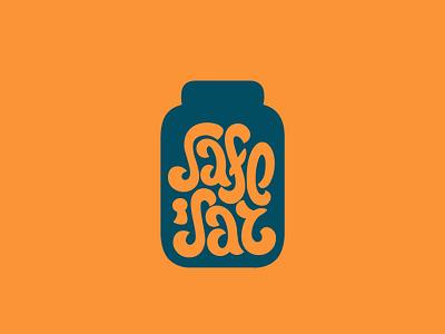Safejar rebound lettering typehue