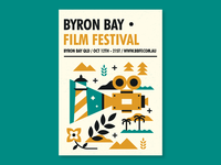 Byron Bay Film Festival Design