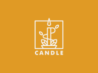 Candle Logo Design