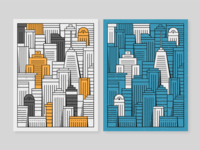 Skylines Illustrations