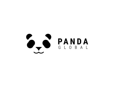 Panda Global panda logo logo design logo cute animal panda