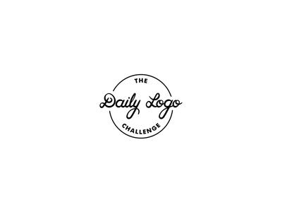 The Daily Logo Challenge brushscript modern vintage logo badge monogram handlettering lettering dailylogochallenge
