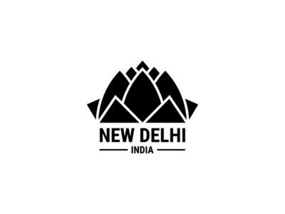 New Delhi minimal logo temple india delhi newdelhi dailylogochallenge