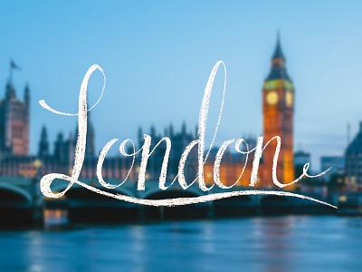 London london lettering calligraphy photo photography chalk chalkboard