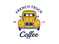 French Truck Coffee Logo
